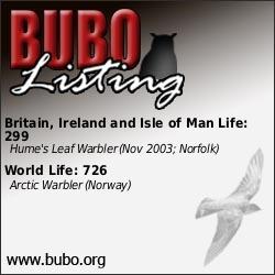 BUBO Listing www.bubo.org